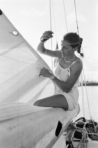 Sailing - Florence Arthaud